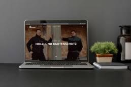 KreativStudio Hohmann Projekt: Taschenberger-Bautenschutz