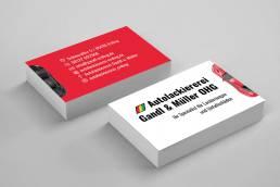 KreativStudio Hohmann Projekt: Autolackiererei Gandl & Müller